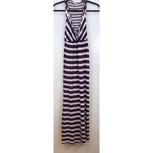Splendid Striped Maxi Dress Small